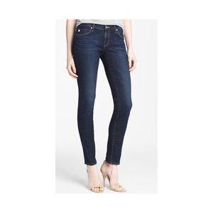 AG The Cigarette Stilt Skinny Dark Wash Jeans